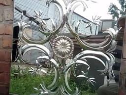 Гравировка глубинная на стекле для витражей