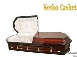 """Гроб саркофаг """"Восьмигранник"""" , лакированный гроб"""