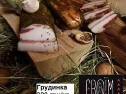Грудинка сыровяленая