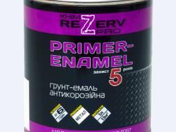 Грунт-емаль Антикорозійна 3 в 1 ТМ ChimreZerv PRO(0, 8 кг/ 2,