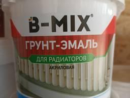 Грунт-эмаль для радиаторов акриловая белая B-MIX