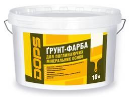 Грунт- краска ГС-18 Dops ТМ Полипласт : 5 л / 7,5 кг