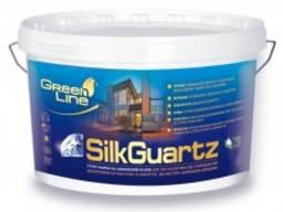 Грунт-краска на силиконовой основе Silk Guartz (10 л)