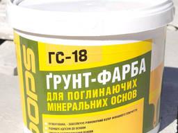 Грунт-краска Полипласт DOPS ГС-18 10 л/ 15 кг