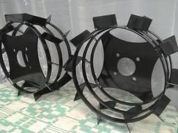 Грунтозацепи, посилені, діаметр 430 мм.