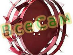 Грунтозацепы Ф450мм на широкой полосе под втулки