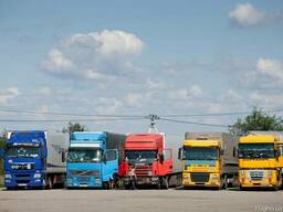 Грузоперевозки 20 тонн по Крыму и России. Реф, Борт, Тент
