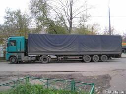 Грузоперевозки 20 тонн, тент, 95 куб. м.