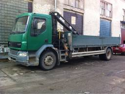 Грузоперевозки, аренда кран - манипулятор 10 т, Одесса и область