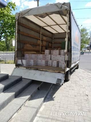 Грузоперевозки Днепр, Украина. Авто 2,3,5,7,10 тон. Гидроборт, верхняя, задняя, боковая