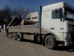 Грузоперевозки краном - манипулятором,15 тонн по Харькову