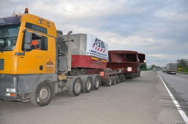 Грузоперевозки низкорамный трал, 50 тонн