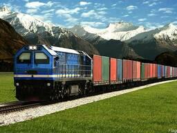 Грузоперевозки щебня, угля, и других грузов жд транспортом