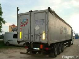 Грузоперевозки по Украине.Зерновозы самосвальные полуприцепы