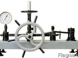 Грузопоршневые манометры, пресса MTU 60, пресс МП-60
