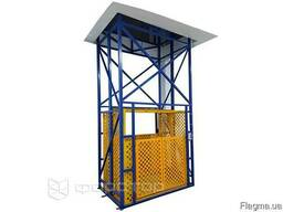 Грузовой лифт, шахтный подъемник с гидравлическим приводом