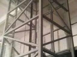 Грузовой шахтный подъёмник на 1 тонну, 1000 кг. под заказ.