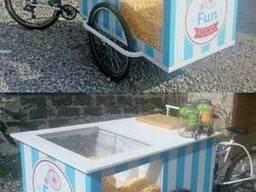 Грузовой велосипед для торговли