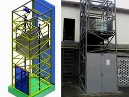 Проектирование, Изготовление приставных грузовых подъёмников