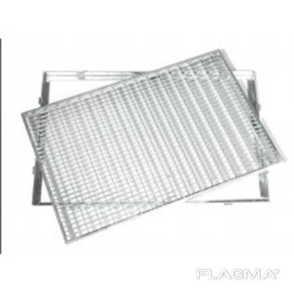 Грязезащитная решетка оцинкованная 20x2/400X600