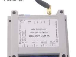 GSM реле 4канала по SMS и Звонкам (выключатель) 5/6/9/12V