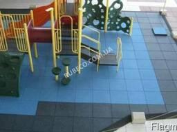 Гумове покриття для підлоги Україна. Травмобезпечна підлога