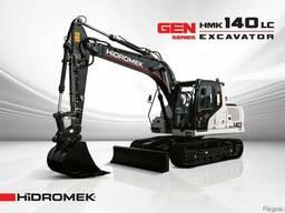 Новый гусеничный экскаватор Hidromek HMK 140LC