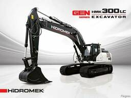 Новый гусеничный экскаватор Hidromek HMK 300LC