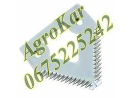 H160251, H207930 Сегмент ножа жатки (крупная насечка) JD 900