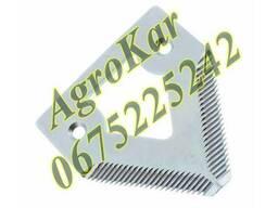 H207929, H136807 Сегмент ножа жатки (мелкая насечка) JD 900
