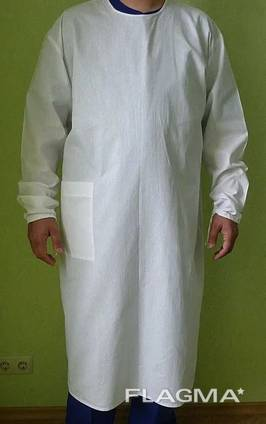 Халат хирургический Модель 1, ткань бязь