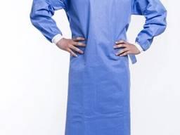 Халат изоляционный Ламинированный халат медицинский