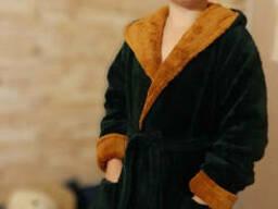 Халат махровый детский мягкий 2-4-6-8-10-12 лет, доставка. ..