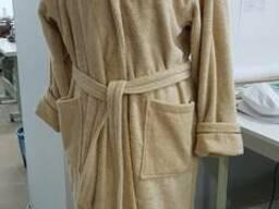 Халат махровый, отшив под размеры