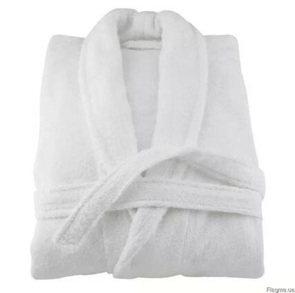 Халат махровый XXL для отелей 400гр/м2 ворот шаль