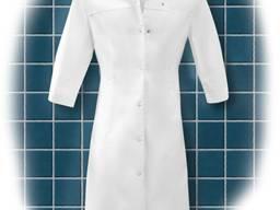 Женский медицинский халат на кнопках
