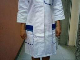 Халат медицинский женский, пошив на заказ