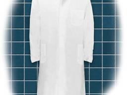 Халат мужской медицинский со скрытой застежкой