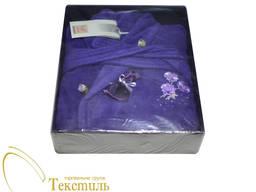 Халат жіночий Soft Cotton mirana, фіолетовий 4386