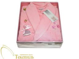 Халат жіночий Soft Cotton mirana, рожевий 4386