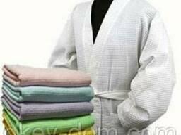 Халаты вафельные супер качества