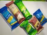 Халва подсолнечная ванильная, сахарная, с арахисом, с изюмом - фото 2