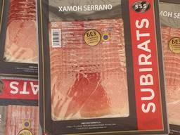 Хамон. SUBIRATS. Испания. Колбаса. Мясо.