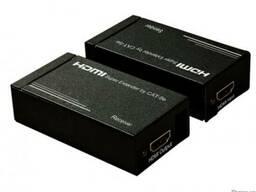 HDMI удлинитель по двум кабелям витой пары САТ 5е/6 до 30 м