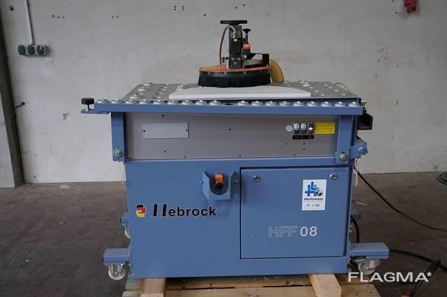 HEBROK HFF 08 кромко фрезерный станок с торцовочным узлом