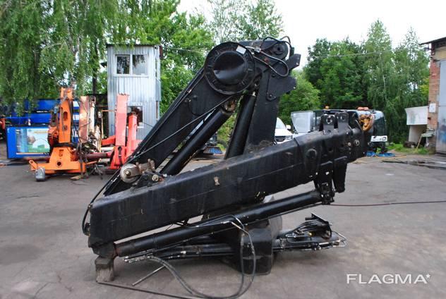 HIAB 220 виліт 8.3м, на вильоі 1970 кг