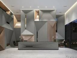 Himacs G554 Urban Concrete, акриловый камень