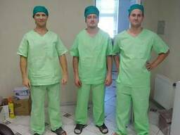 Хирургический костюм ткань бязь