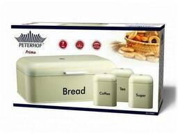 Хлебница с тремя банками Prima Peterhof PH-1266-C