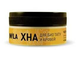 Хна для бровей и мехенди черная, Nila 10 г.
